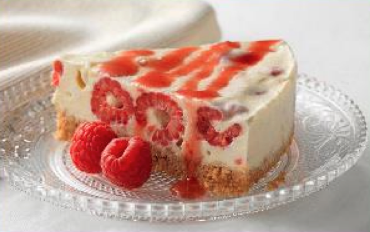 Cheesecake framboise meringue