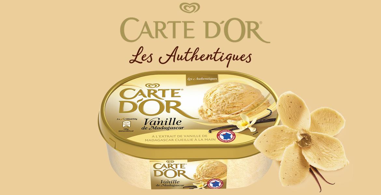 Pourquoi Carte d'Or Vanille de Madagascar est-elle la crème glacée préférée des Français depuis près de 40 ans?